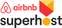 Insignia SuperHost en AIRBNB